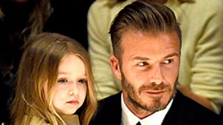 David Beckham Never Ever Wants to Cut Daughter Harper's Hair: Read His Adorable Quotes!