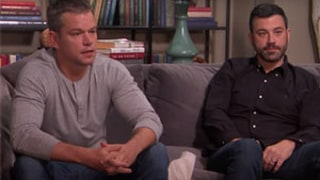Matt Damon Joins Jimmy Kimmel on a Couch for Couples Therapy: Watch the Amazing Skit!