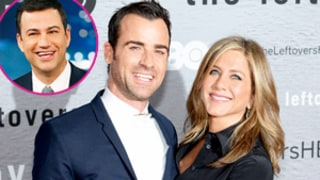 Justin Theroux Says Jimmy Kimmel Cried While Officiating His Wedding to Jennifer Aniston