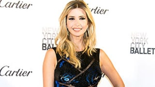 Pregnant Ivanka Trump Works Teeny, Tiny Baby Bump in Sheer Paneled Gown