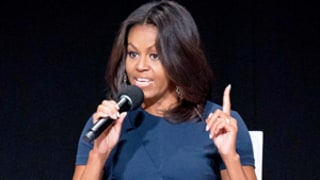 Michelle Obama Urges Girls to Focus on Their Education, Not Dating: