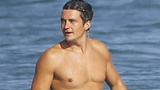 Orlando Bloom Is Buff and Shirtless as He Hits the Beach in Malibu: Photos