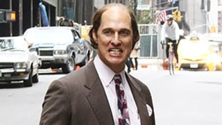 Matthew McConaughey Is Balding, Overweight in New Movie Gold: Crazy Set Photos