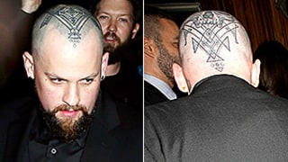 Benji Madden Debuts a Freaky New Tattoo on His Scalp on a Date Night With Cameron Diaz
