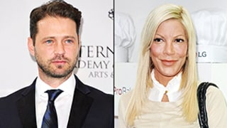Jason Priestley Bashes Tori Spelling's Sex Claims on Twitter:
