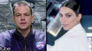 Matt Damon, Kim Kardashian Spoof The Martian in Ellen DeGeneres'