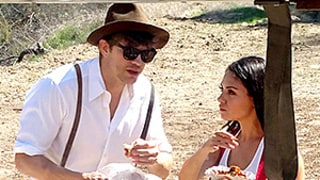 Mila Kunis and Ashton Kutcher Rock Lederhosen at Oktoberfest Fete: Photos!