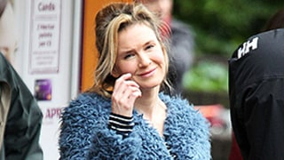 Renee Zellweger Is Pregnant (as Bridget Jones, That Is) on Set of Bridget Jones's Baby: Pics!