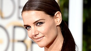Katie Holmes Boards a Train in NYC in a Ball Gown and Heels: See the Stunning Pic