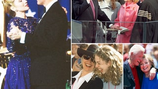Bill and Hillary Clinton Through the Years