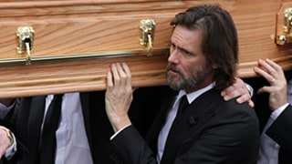 Jim Carrey Attends Girlfriend Cathriona White's Funeral in Ireland, Tweets: