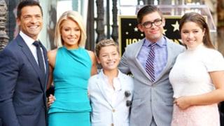 Kelly Ripa, Mark Consuelos Bring Their Look-Alike Kids to Her Hollywood Walk of Fame Ceremony: Family Photos