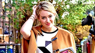 Hilary Duff Slays in a Camel-Colored Cape: Shop 6 More Capes We're Craving for Fall!