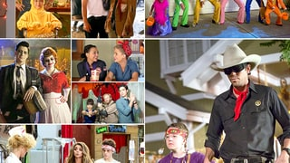 TV Characters' Halloween Costumes