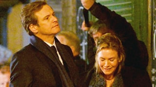 Renee Zellweger, Colin Firth Reunite on Bridget Jones's Baby Set: Pics