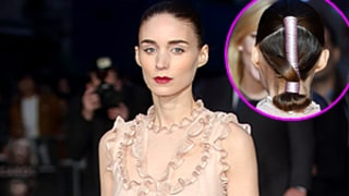 Rooney Mara Rocked the Most Tricked Out Ponytail We've Seen: See It From All Angles