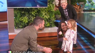 Adam Levine Meets the Little Girl Who Cried Over Him Being Married
