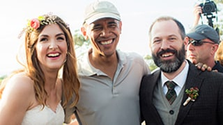 President Obama Is Coolest Wedding Crasher Ever, Chats With Bride and Groom After a Round of Golf