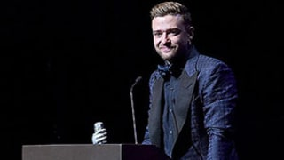 Justin Timberlake Cries, Thanks His