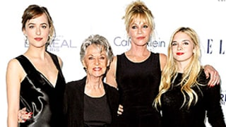 Dakota Johnson Joins Melanie Griffith, Tippi Hedren, and Stella Banderas for Three Generations of Gorgeousness