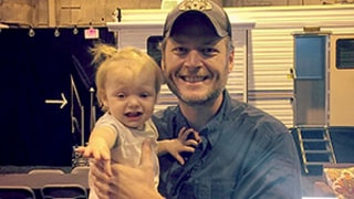 Christina Aguilera's Daughter Summer Rain Isn't a Fan of Blake Shelton: Photo