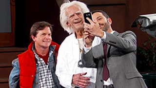 Michael J. Fox, Christopher Lloyd Reprise Their Back to the Future Characters on Jimmy Kimmel Live, Declare