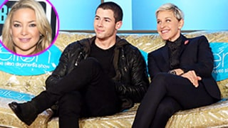 Ellen DeGeneres Teases Nick Jonas About New Flame Kate Hudson: