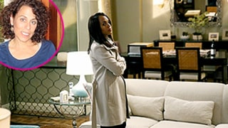 Get an Inside Look Into Olivia Pope's Fab Apartment on Scandal, Find Out Where to Buy Her Go-To Wine Glasses