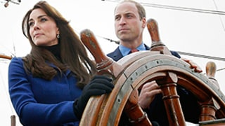 Kate Middleton and Prince William Visit Historic Scottish Town, Greet Children, Play Video Games