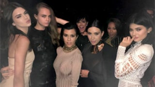 Kardashian Clan Rocks Balmain Birthday Bash With Willow and Jaden Smith, Cara Delevingne: Photos