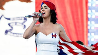 Katy Perry Performs at Rally for Hillary Clinton, Takes Over Her Instagram Account
