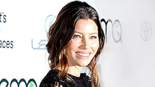 Jessica Biel's Layered Lace Dress With Beading for Days Is the Definition of Modern Romance
