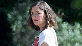 Pregnant Rose Byrne Shows Off Baby Bump on Neighbors 2 Set While Filming With Seth Rogen, Zac Efron: See the Photos!