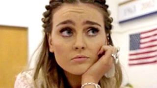 Perrie Edwards Flawlessly Recreates Britney Spears'