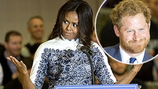 Prince Harry Reminds Us He's Super Hot and Michelle Obama Agrees: