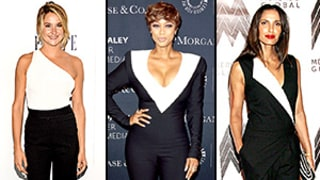 The Black-and-White Jumpsuit Is Happening in Hollywood: See 9 Celebs Owning the Trend!