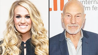 Carrie Underwood Freaks Out After Sir Patrick Stewart Responds to Her 25 Things Crush Confession: