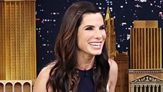 Sandra Bullock Jokes That Her Son Louis, 5, Picked Out Her