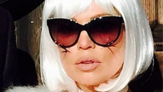 Josh Duhamel, Fergie Dress Up as Karl Lagerfeld and His Kitty Choupette for Halloween: Photo