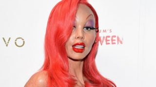 Heidi Klum Dresses as Jessica Rabbit for Annual Halloween Party -- See Her Amazing Costume Here!