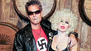 Harry Hamlin Apologizes for Wearing Swastika T-Shirt as Part of Sid Vicious Halloween Costume: Picture