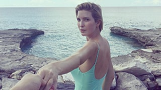 Pregnant Ivanka Trump Dons a Mint-Green Swimsuit for Her Birthday Getaway