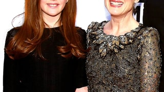 Julianne Moore and Liv Helen Freundlich