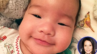 Lucy Liu's Adorable Son Rockwell Makes Mondays Way Better — See the Latest Baby Photo!
