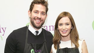 Celeb Sightings: John Krasinski and Emily Blunt's Five-Course Date!