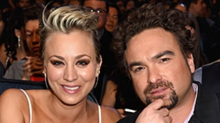 Kaley Cuoco, Costar Johnny Galecki are Friendliest Exes Ever, Bite Each Others' Necks: Photo