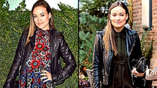 15 Ways to Style Your Leather Jacket, Courtesy of Olivia Wilde