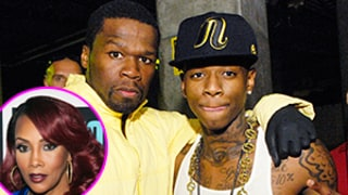 50 Cent Fires Back at Vivica A. Fox After She Insinuates He's Gay -- Along With Soulja Boy