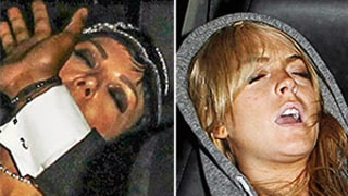 Kris Jenner Passes Out in Car, a la Lindsay Lohan, After 60th Birthday Bash — See the Funny Pics