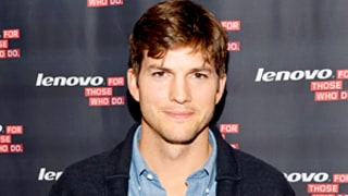 Ashton Kutcher Posts Picture of Little Girl: Is She Daughter Wyatt?